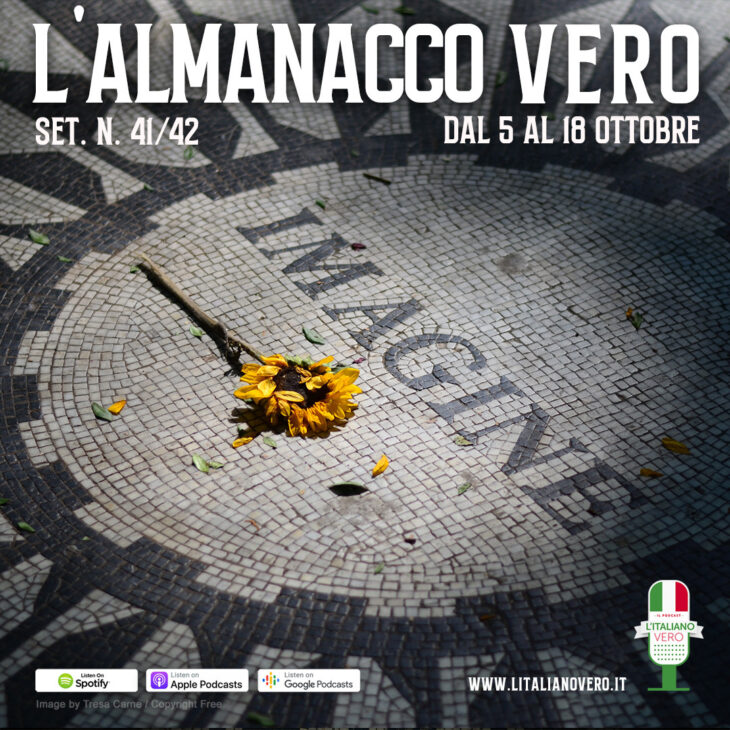 L'Almanacco Vero sett. n. 41-42 dal 5 al 18 ottobre '20